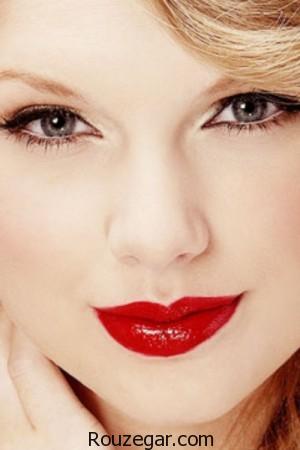 آرایشی زیبا با رژ لب قرمز + عکس،رژ لب قرمز مخملی،رژ لب قرمز مات،رژ لب قرمز خوشرنگ،رژ لب قرمز بلانش،رژ لب قرمز گوجه ای،رژ لب زرشکی مات،رژ لب قرمز تیره،رژ لب صورتي