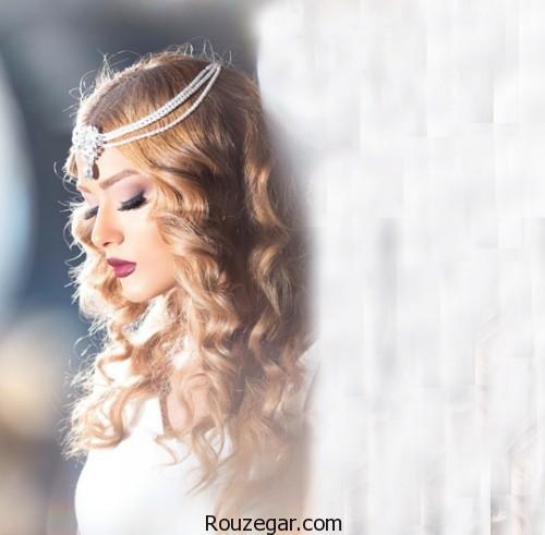 گالری شیک ترین مدل آرایش موی باز عروس،مدل موی باز عروس،مدل شینیون باز و بسته،مدل شینیون نیمه باز،مدل شینیون دخترانه،مدل شینیون بسته،مدل شینیون جدید،مدل شینیون 2017،مدل شینیون عروس
