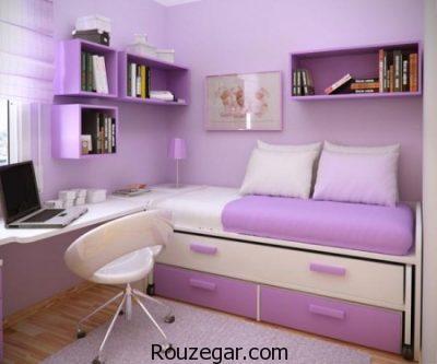 عکس اتاق خواب دخترانه ایرانی