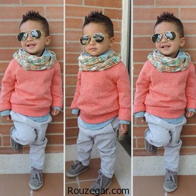 بهترین مدل ست کردن لباس بچه پسر 2017-96