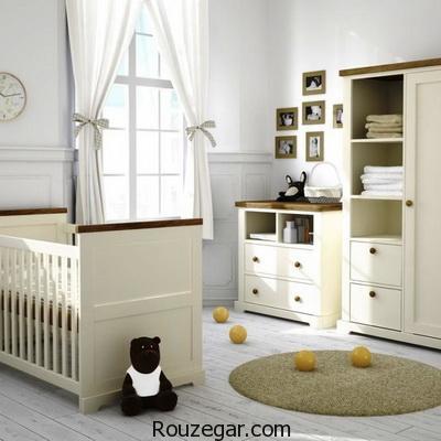 جدیدترین مدلهای تخت و کمد نوزاد 2017