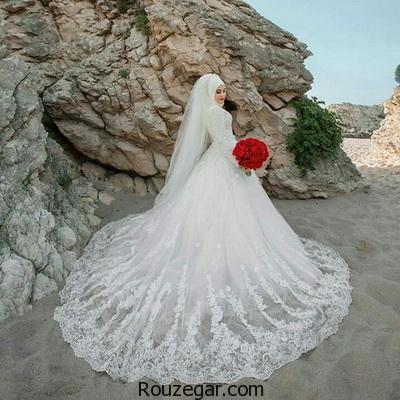 مدل لباس عروس باحجاب 2017-96