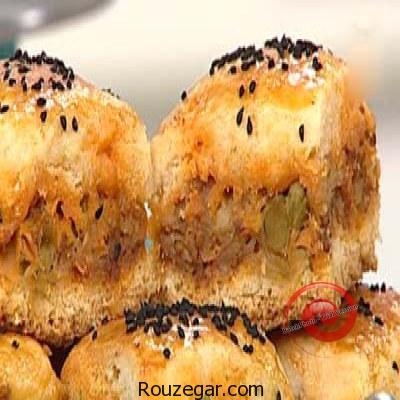 طرز تهیه باقلوای گوشت برای افطار