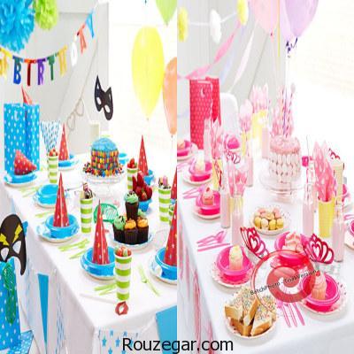 ایده های جالب برای جشن تولد بچه ها+عکس