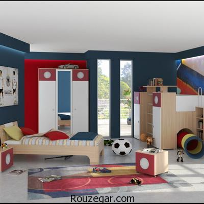 دکوراسیون اتاق پسرانه