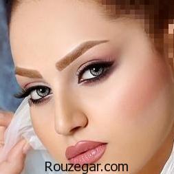 جدیدترین مدل آرایش عروس ، مدل میکاپ عروس