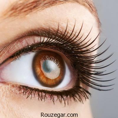 چشم قهوه ای و نحوه آرایش کردن