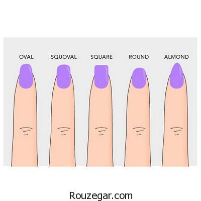 انتخاب مدل ناخن برای هر فرم انگشتی
