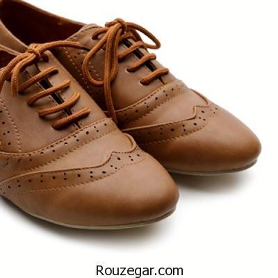 مدل کفش چرم