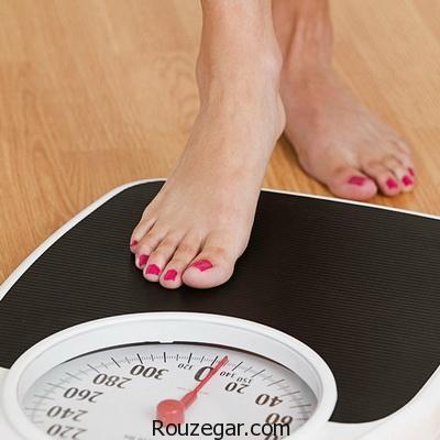 به راحتی وزن خود را پایین بیاورید