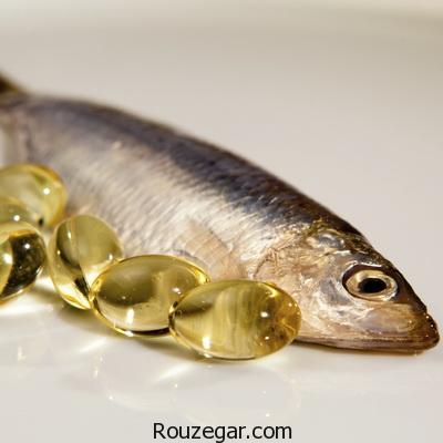 خواص روغن ماهی برای بدن