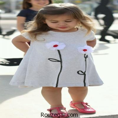 پیراهن بچگانه دخترانه
