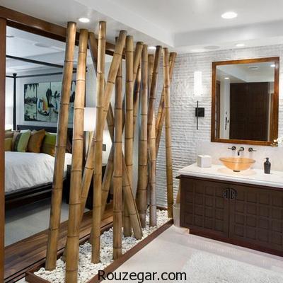 تزیین خانه با گیاه بامبو