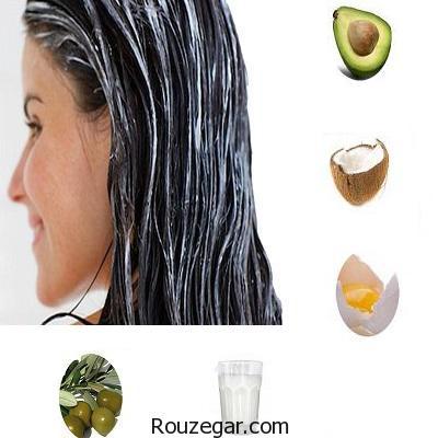 ماسک موهای خانگی برای تقویت مو