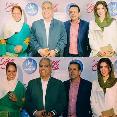 حضور بازیگران به همراه خانواده شان در مراسم اکران نهنگ عنبر 2+ عکس