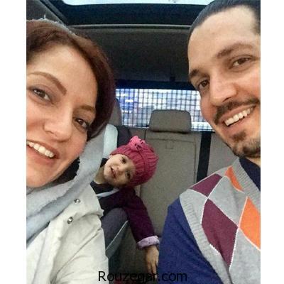 مهناز افشار در کنار همسر و دخترش+ عکس