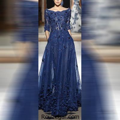 گالری جدیدترین و شیک ترین مدل پیراهن مجلسی پوشیده 2017- 1396