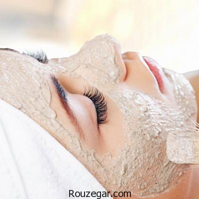 ماسک جو برای روشن شدن پوست