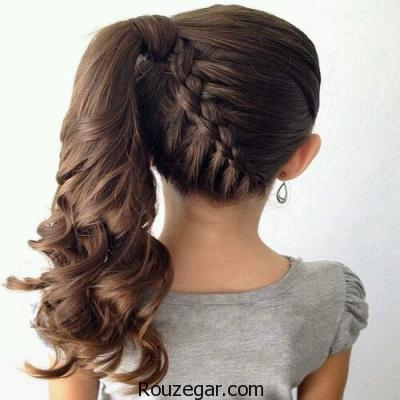 مدل مو بچگانه دخترانه