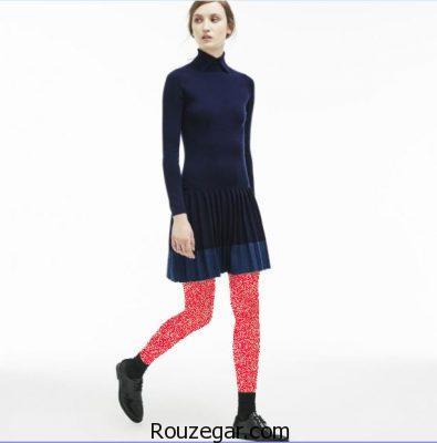 جدیدترین مدلهای دامن و پیراهن برند لاکوسته Lacoste 2017