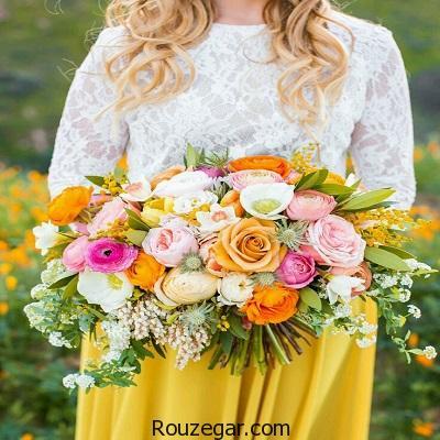 گالری زیباترین مدل دسته گل عروس 2017،گل عروس آپارتمانی،دسته گل عروس رز قرمز،دسته گل خواستگاری،دسته گل رز عروس،دسته گل عروس،دسته گل عروس ارکیده،دسته گل نامزدی،دسته گل زیبا