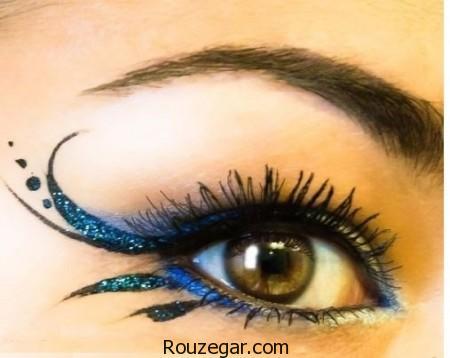 مدل آرایش چشم با طرح ها و رنگ های مختلف + عکس،سایه چشم ساده،سایه چشم عروس،سایه چشم جدید،آموزش سایه زدن چشم مرحله به مرحله،طرز زدن خط چشم،فیلم آموزش سایه زدن چشم،مدل سایه چشم عربی،سایه چشم خلیجی