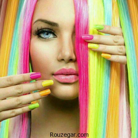 گالری مدلهای رنگ موی فانتزی برای دختران جوان 2017 + عکس،رنگ مو فانتزی بدون دکلره،رنگ موی فانتزی برای پوست سبزه،رنگ مو فانتزی بنفش،رنگ موی فانتزی ابی،هایلایت سرمه ای روی موی مشکی،رنگ موی فانتزی صورتی،رنگ فانتزی،خرید رنگ مو فانتزی