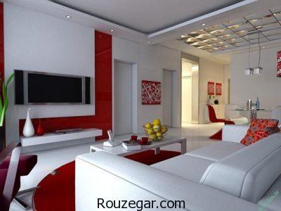 اصول طراحی اتاق نشیمن