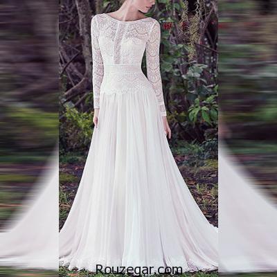 ژورنال جدیدترین و شیک ترین مدل لباس عروس پوشیده 2017