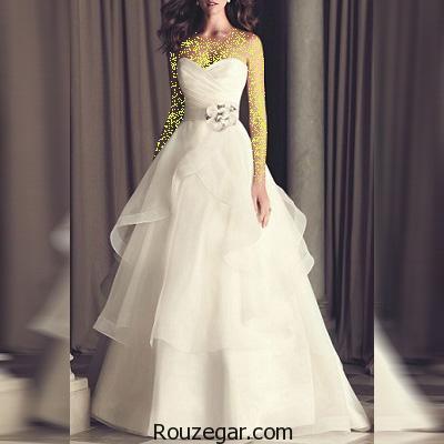 ژورنال مدل لباس عروس جدید و شیک 2017، 1396