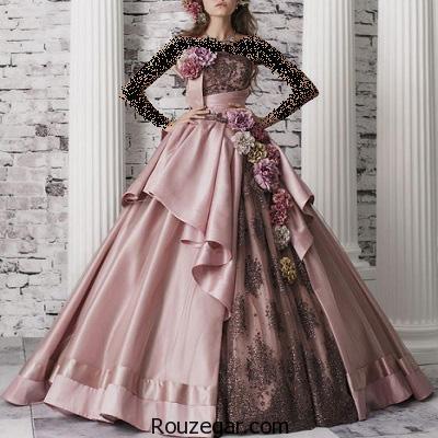 گالری جذابترین مدل لباس نامزدی شیک و جدید 2017- 1396
