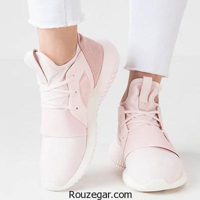 کالکشن شیک ترین مدل کفش کتانی دخترانه تابستانه 1396- 2017