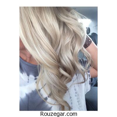 انتخاب رنگ موی بلوند برای فصل تابستان