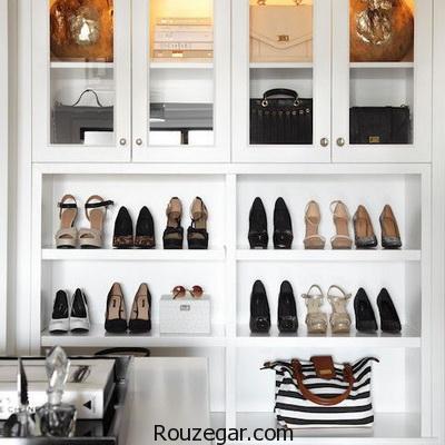 فضایی از خانه برای کیف و کفش