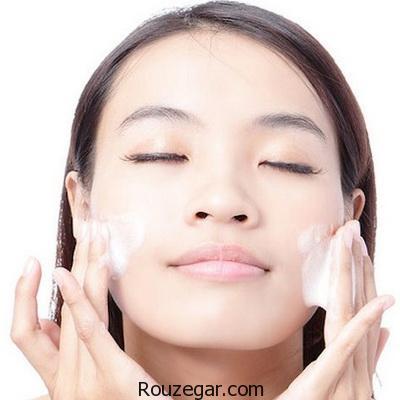 بهترین روش برای شستشوی صورت