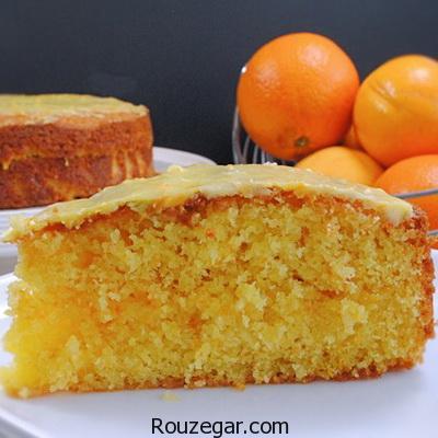 آموزش کیک خیس پرتقالی