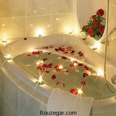 حمام کردن با روغن و گیاهان دارویی