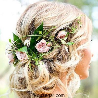 مدل موی عروس برای صورت های گرد ۲۰۱۷