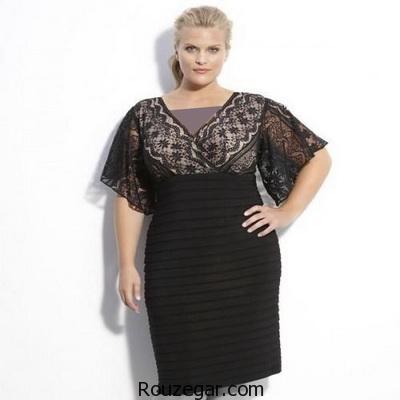 انتخاب لباس برای خانم های چاق
