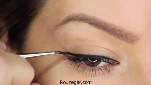 کشیدن خط چشم و عوارض آن