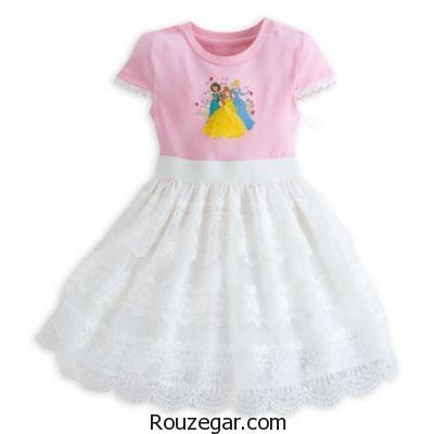 پیراهن دخترانه بچگانه