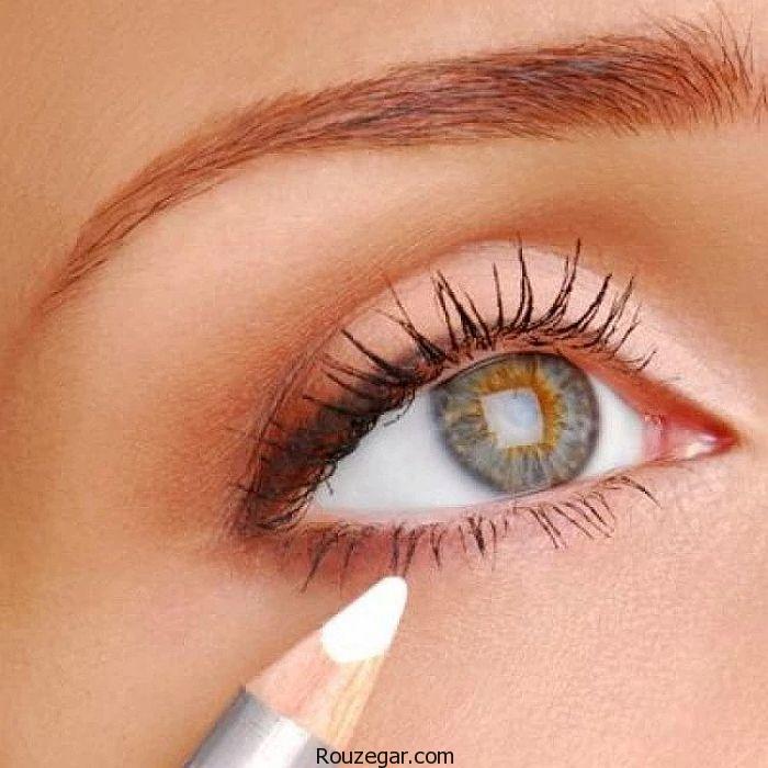 آرایش چشم بادوام تر باکنترل چربی پلک