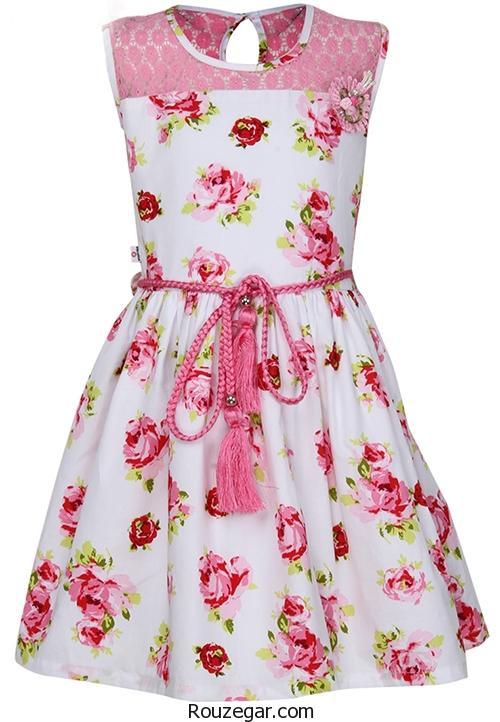 پیراهن های گلدار بهاری دخترانه + پیراهن هایی از جنس بهار