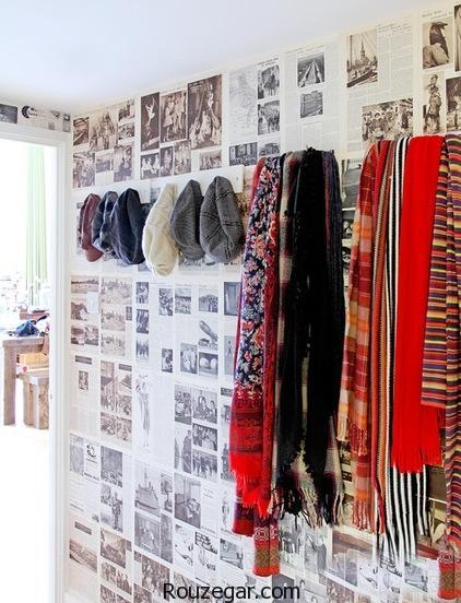طراحی دکوراسیون خلاقانه منزل برای علاقمندان به مد و هنر
