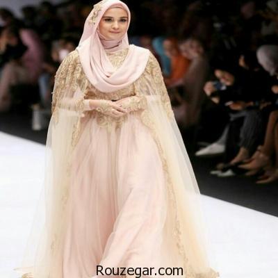 مدل لباس عروس پوشیده اسلامی