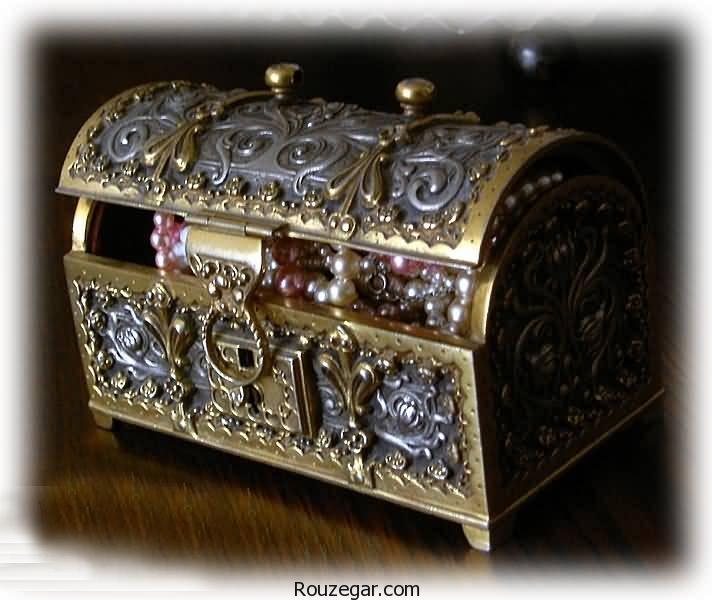زیباترین جعبه جواهرات