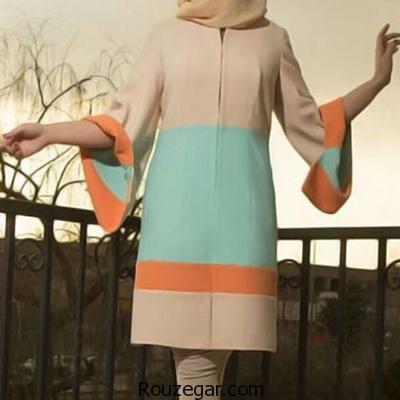 ژورنال جدیدترین مدل مانتو کوتاه زنانه ۲۰۱۷-۱۳۹۶