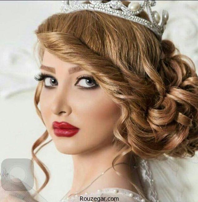 میکاپ و شینیون عروس ایرانی +جدیدترین مدل آرایش و شینیون عروس 96-2017،مدل عروس الهام عرب،عروس ایرانی خوشگل،مدل آرایش عروس 2017،مدل ارایش عروس ایرانی،مدل موی عروس جدید،آرایش عروس اروپایی،آرایش عروس ایرانی،عروس ایرانی قبل و بعد ارایش