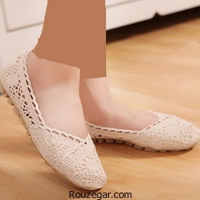 مدل کفش های بدون پاشنه مجلسی