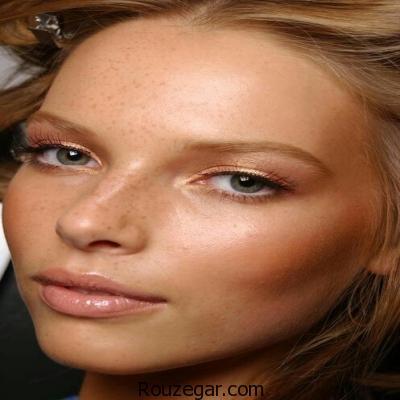 مدل آرایش ساده